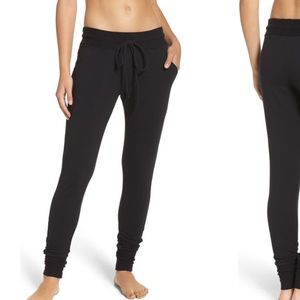 NEW Free people high waisted black joggers m